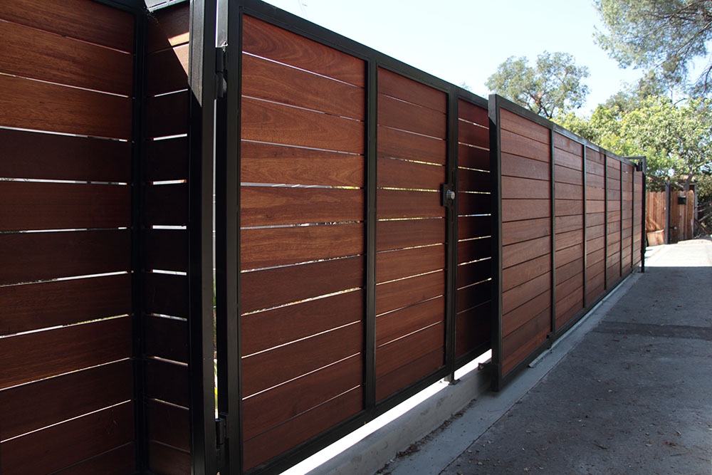 drdriveway gate repair los angeles  wood and metal gate